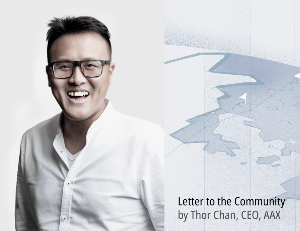 1 Year Anniversary: Letter to the Community, by Thor Chan, CEO, AAX
