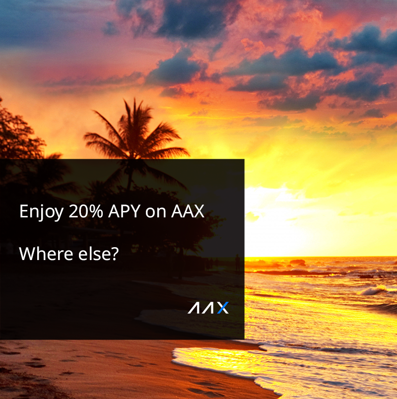 AAX Exchange Introduces the Best Crypto Saving Rates Offering Users up to 20% APY