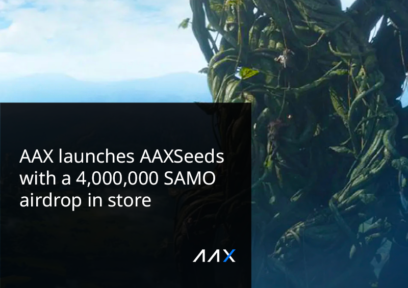 AAX Launches AAXseeds Listing Project With SAMO to Be Airdropped